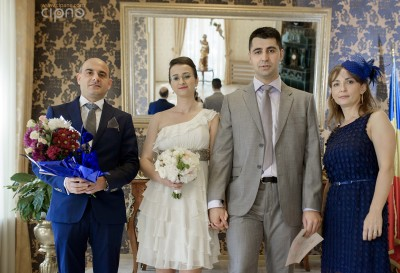 Alex & Mirela - Cununia civilă - 24 mai 2014 - București