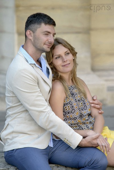 Igor & Valya - Paris Engagement - 24.06.2014