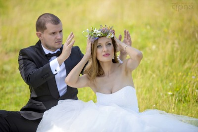 George & Alina - Trash-The-Dress - 2 august 2014 - Păltiniș, Sibiu