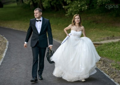 George & Alina - Trash-The-Dress - 2 august 2014 - Muzeul Astra, Sibiu