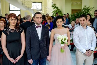Liviu & Andreea - Cununia civilă - 18 aprilie 2015, Voluntari