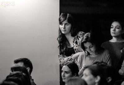 Dan Byron & Luiza Zan - 18 aprilie 2015 - Clubul Țăranului, București