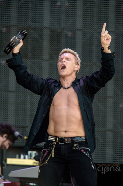 Billy Idol - 19 iunie 2015 - Hellfest Open Air, Clisson, France