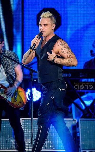 Robbie Williams - 17 iulie 2015 - Piața Constituției, București