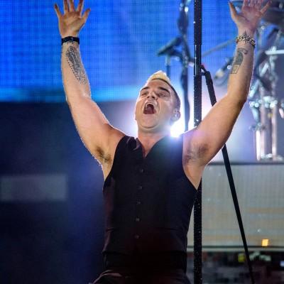 Robbie Williams @ Piața Constituției