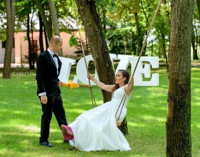 George & Adriana - Trash-The-Dress - 18 august 2015 - Parcul Natural Comana