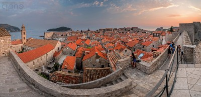 A Game Of Roofs - Panorama of Dubrovnik