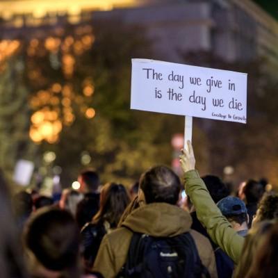 Proteste – 3 noiembrie 2015
