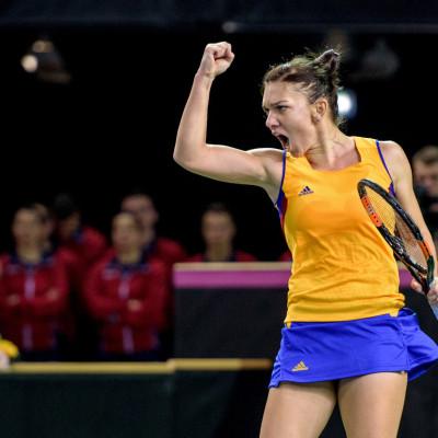 FedCup – Simona Halep vs. Karolina Pliskova