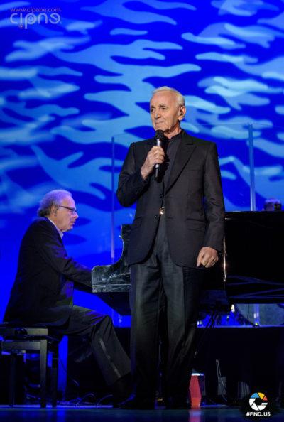 Charles Aznavour - 28 aprilie 2016 - Sala Palatului, București