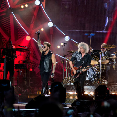 Queen + Adam Lambert @ Piața Constituției