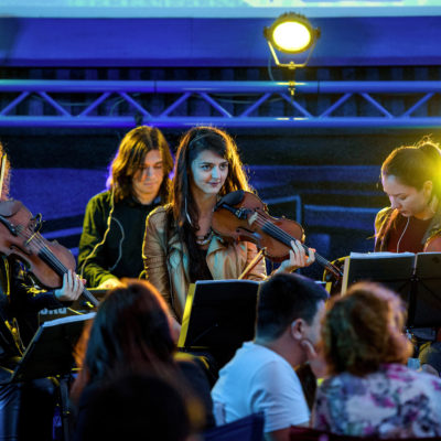 Lucia & Muse Quartet - 3 iunie 2016 - Grădina cu Filme, București