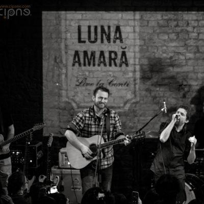 """Luna Amară - Lansare DVD """"Live la Conti"""" - 2 martie 2017 - Club Control, București"""