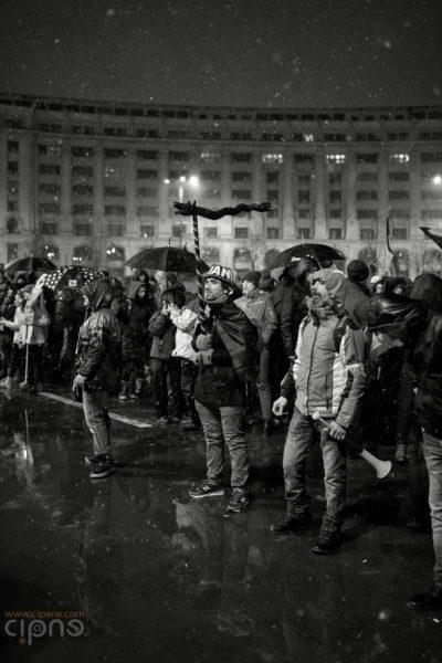 20 ianuarie 2018 - București, Piața Constituției