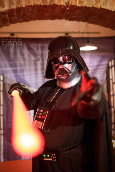 Breathe, I am still your father!