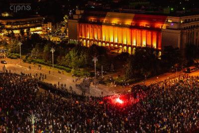 10 august 2018 - București, Piața Victoriei, ora 22:00