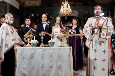Ionuț & Cătălina - Ceremonia religioasă - 14 octombrie 2012 - București