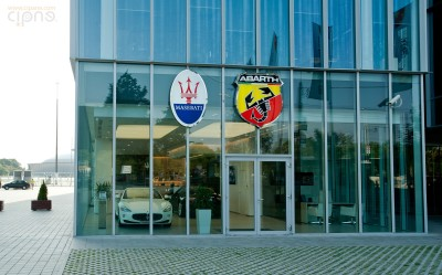 Reprezentanța Maserati Piața Presei Libere - 25 august 2011 - București