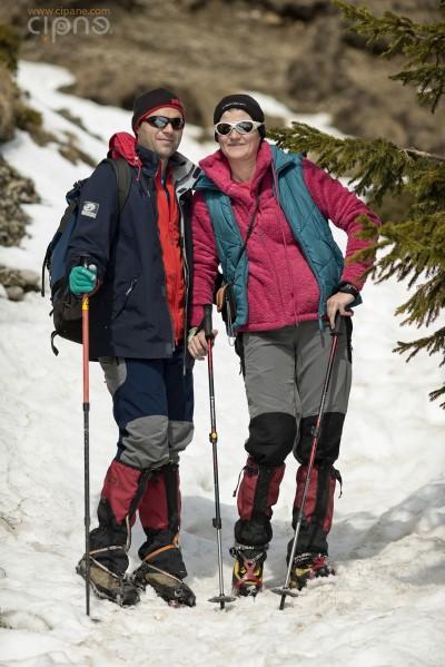 Vlad & Cristina - Ascensiune pe vârful Ciucaș - 24 martie 2014 - Munții Ciucaș