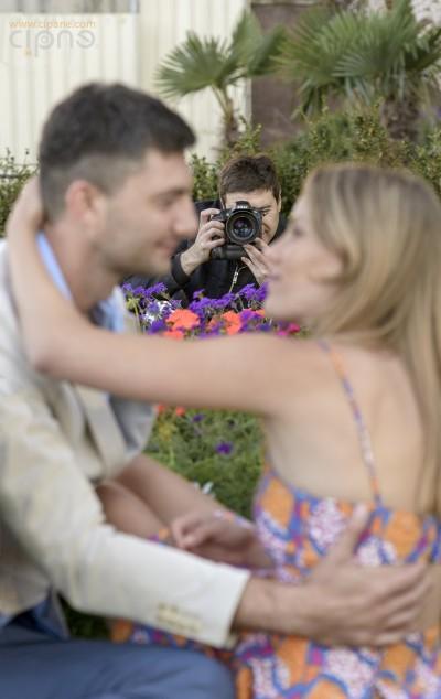 Igor & Valya - Paris Engagement - Making Of - 24.06.2014
