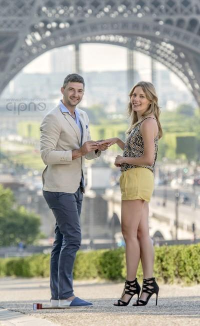 Igor & Valya - Paris Engagement - 24.06.2014