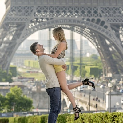 Igor & Valya – Engagement in Paris