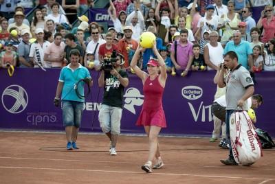 Simona Halep - 9 iulie 2014 - BRD Bucharest Open