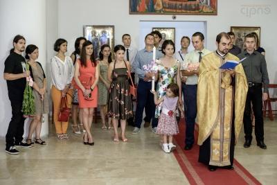 Roxana Maria - Ceremonia religioasă - 31 august 2014, București