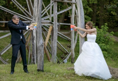 George & Alina - Trash-The-Dress - 2 august 2014 - Muzeul Astra, Sibiu