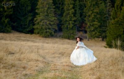 Andrei & Betty - Trash-The-Dress - 11 noiembrie 2014 - Lacul Sfânta Ana-Tinovul Mohoș