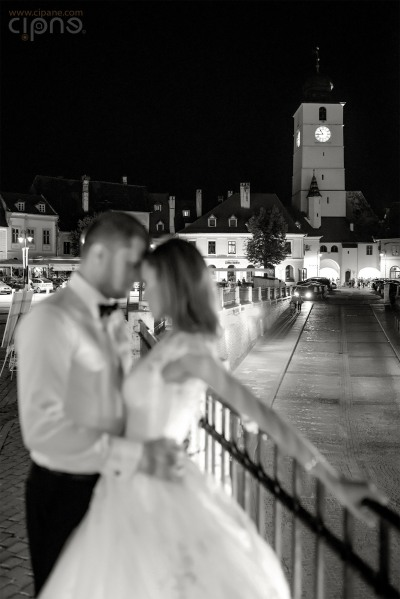 George & Alina - Trash-The-Dress - 2 august 2014, Sibiu
