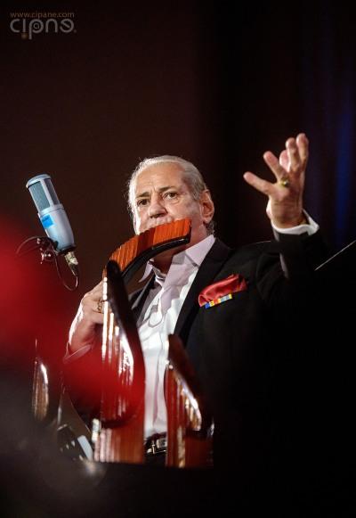Gheorghe Zamfir - 18 decembrie 2014 - Sala Palatului, București