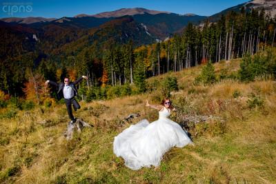 Mihai & Oana - Trash-The-Dress - 11 octombrie 2014, Munții Bucegi