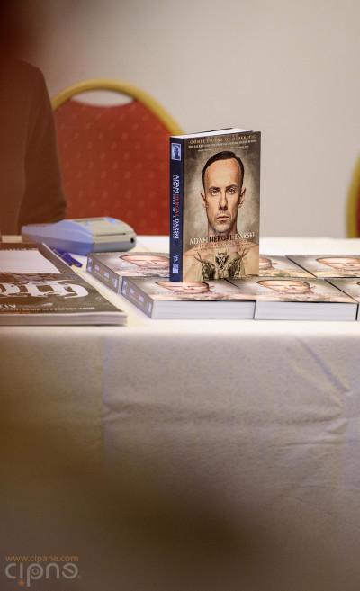 """Lansare carte Adam """"Nergal"""" Darski - 21 aprilie 2015 - Hotel Capitol, București"""
