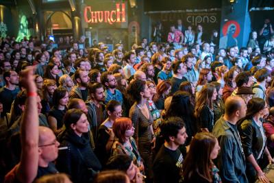 Wovenhand - 26 aprilie 2015 - Sliver Church Club, București