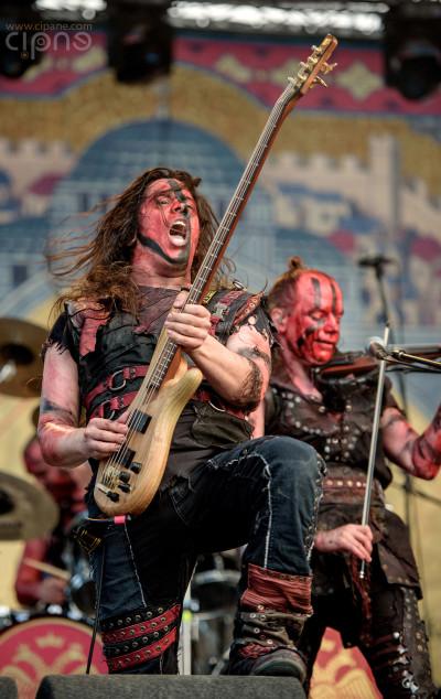 Turisas - 12 iunie 2015 - Metalhead Meeting, București