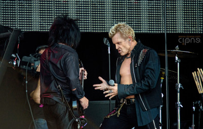 Billy Idol - 19 iunie 2015 - Hellfest Open Air, Clisson , France