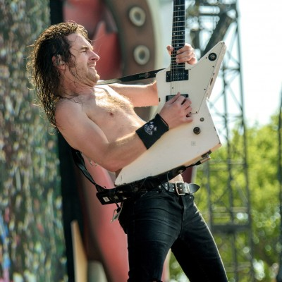 Airbourne @ Hellfest Open Air 2015