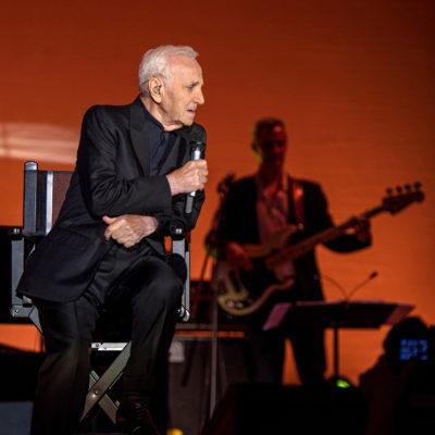 Charles Aznavour @ Sala Palatului