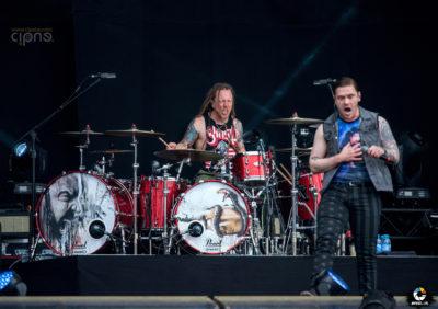 Shinedown - 17 iunie 2016 - Hellfest Open Air, Clisson, France