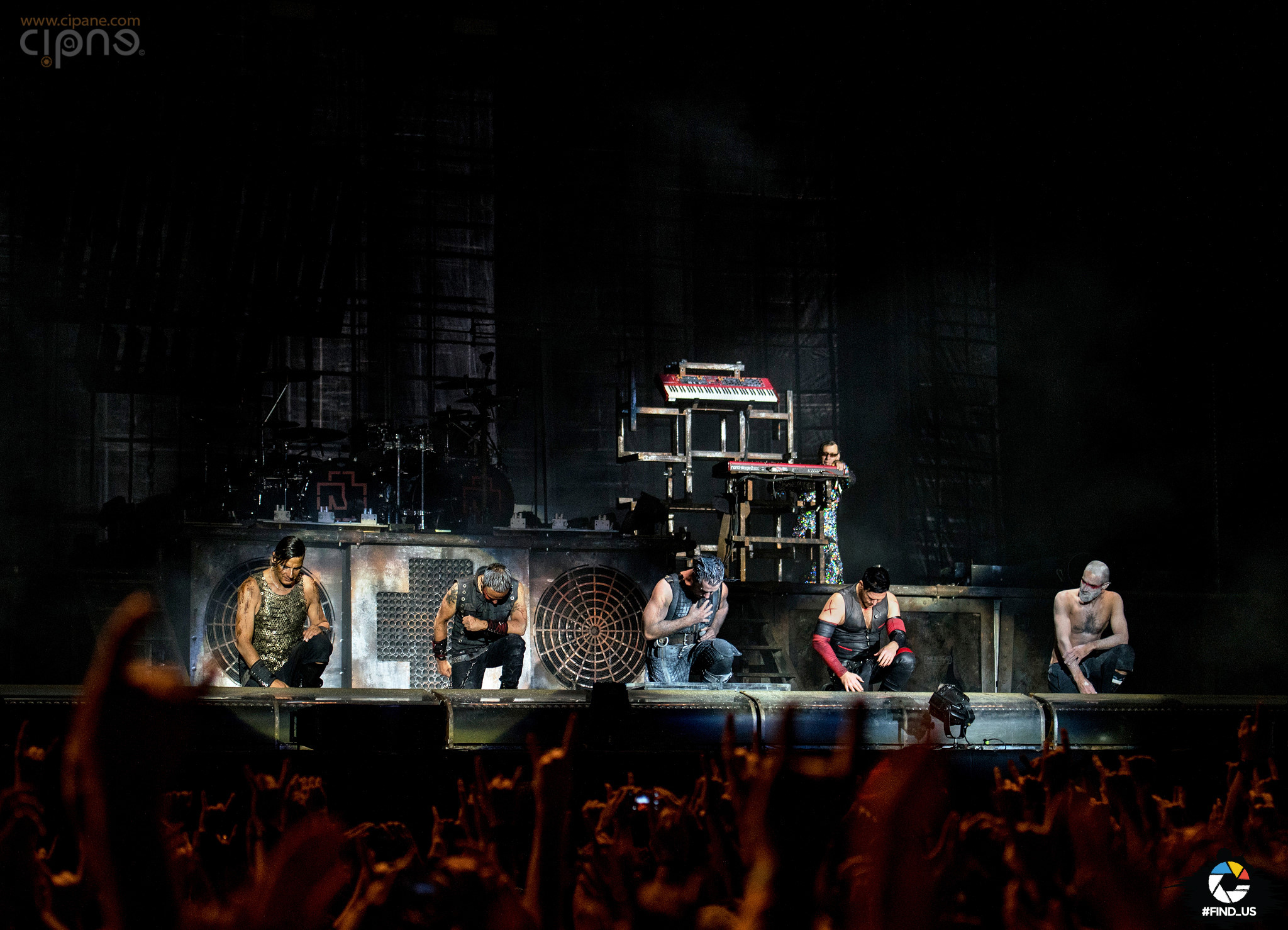 Rammstein - 17 iunie 2016 - Hellfest Open Air, Clisson, France