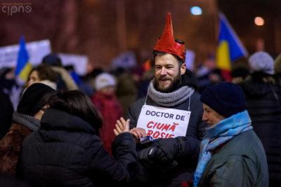 12 februarie 2017 - București, Piața Victoriei
