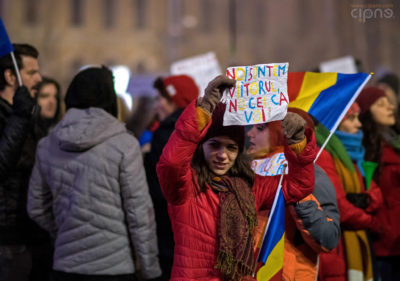 6 februarie 2017 - București, Piața Victoriei