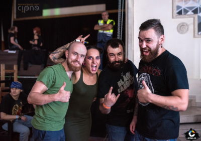Jinjer - 20 septembrie 2017 - Quantic Pub, București