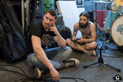 RoadkillSoda, înregistrare album 'Mephobia' - 27 iunie 2017 - București, Studio Vița-de-Vie