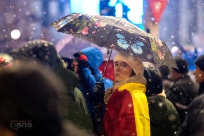 20 ianuarie 2018 - București, Piața Universității