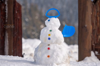Afară, la zăpadă