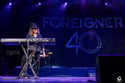 Foreigner - 7 mai 2018 - Sala Palatului, București
