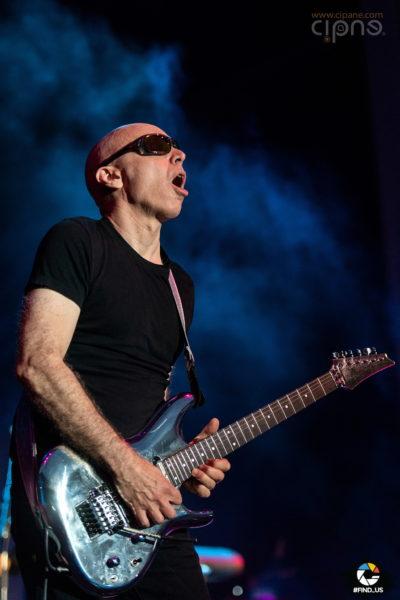 Joe Satriani - 25 iulie 2018 - Arenele Romane, București