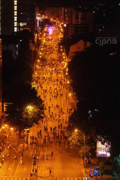 10 august 2018 - București, Piața Victoriei, ora 23:24